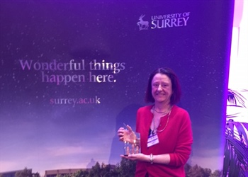 Another award for Kym: Surrey's STEM Woman of the Year