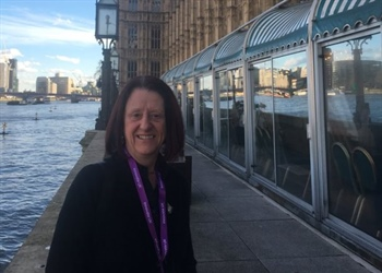 Kym speaks at the Palace of Westminster!